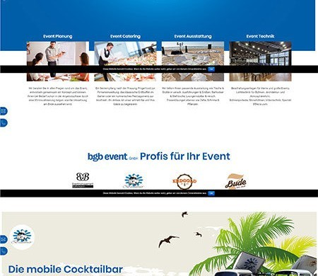 Webdesign Eventagentur