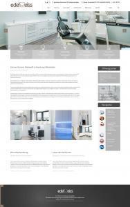 Webseite für Zahnärzte: Wir bieten kompetentes und kreatives Webdesign!