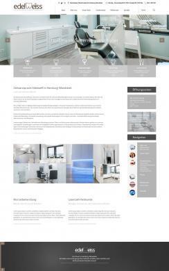Webdesign für Zahnarztpraxis in Hamburg Wandsbek