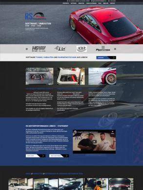 Webseite für KFZ mit Tuning Datenbank