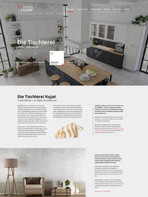 Webdesign für Tischlerei