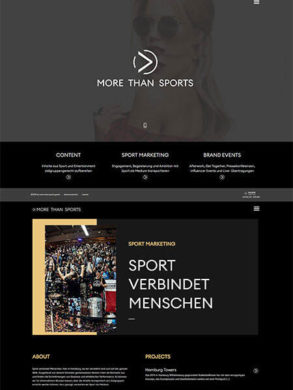 More Than Sports Marketing und Events