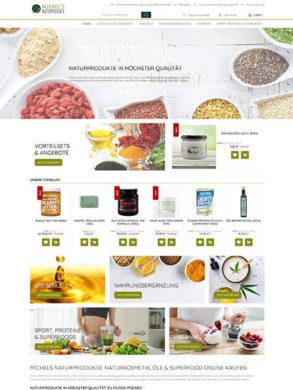 Shopware-Lösung für Nahrungsergänzung