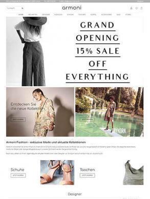 Armoni Fashion - exklusive Mode und aktuelle Kollektionen