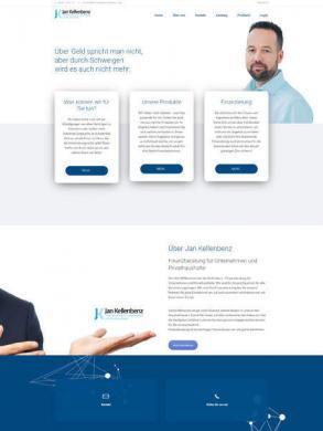 Webseite & Video zur Leadgenerierung - Zahnersatz