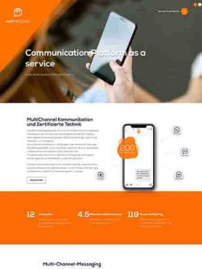 Anymassage – Your Cloud Communication Provider