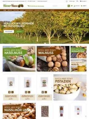 Rieser Nuss – Bio Zertifizierter Haselnussanbau
